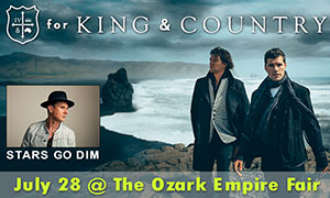 for King & Country at the Ozark Empire Fair