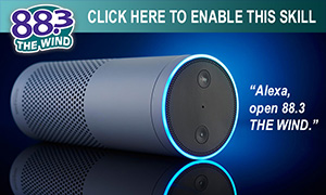 Listen to 88.3 The Wind with Amazon Alexa